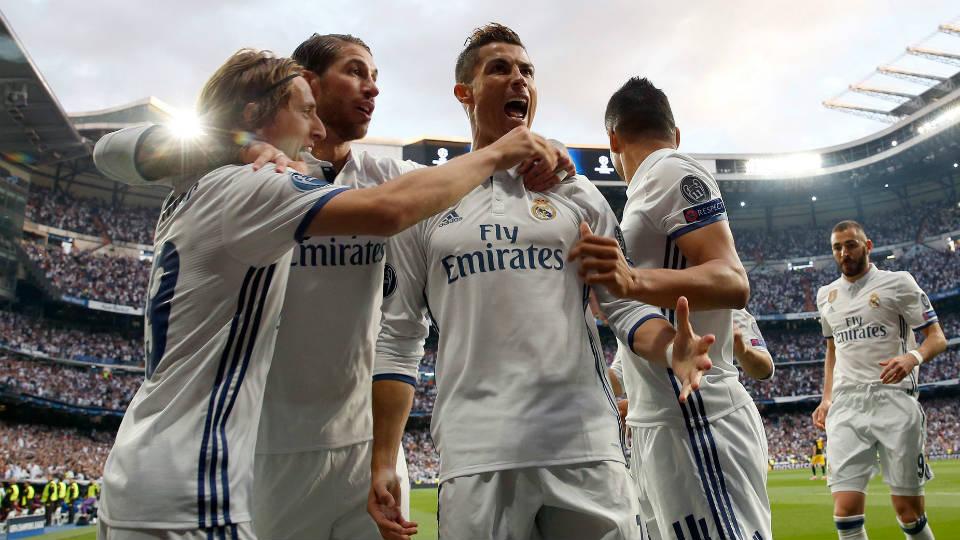 Hattrick Ronaldo runtuhkan harapan Atletico Madrid